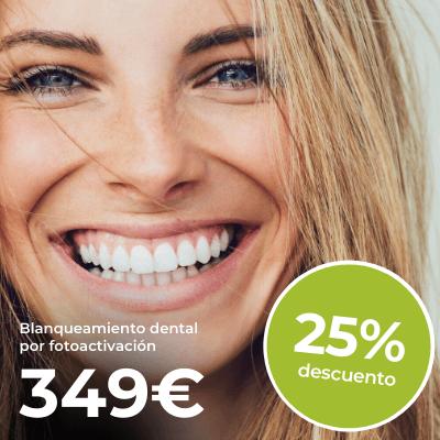 40% de descuento en blanqueamiento por fotoactivación Philips ZOOM en Barcelona