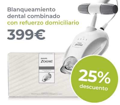Blanqueamiento dental mixto