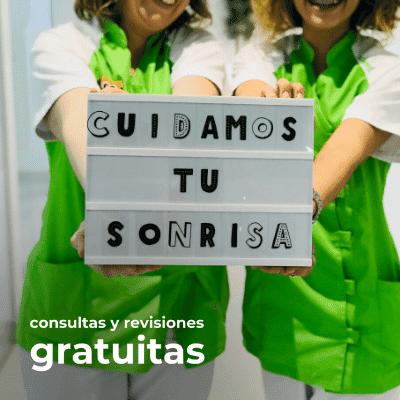 Consultas y revisiones gratuitas en Caredent Palma de Mallorca