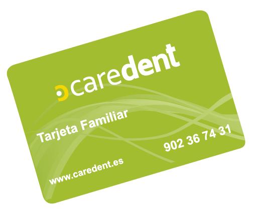 tarjeta caredent